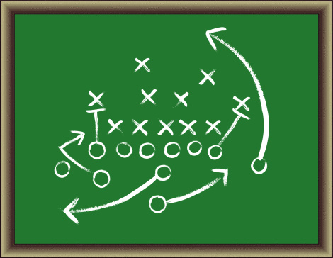The Game Plan Clipart.