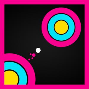 Super Circle Jump★Reflex Game.