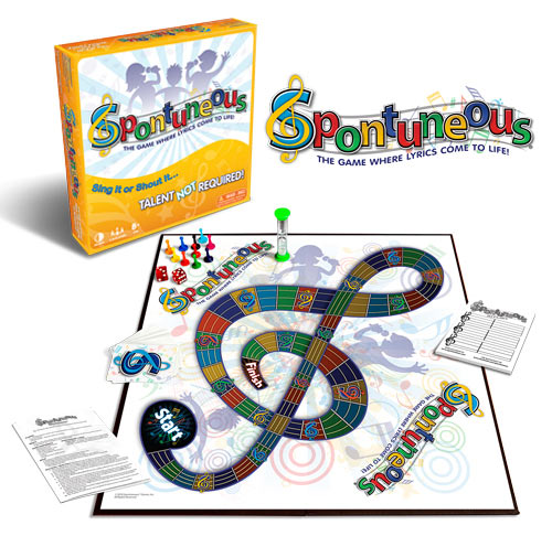 Board Game Rules for Spontuneous.