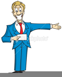 Game Show Host Clipart.