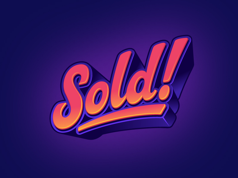 Sold by Alan Oronoz on Dribbble.