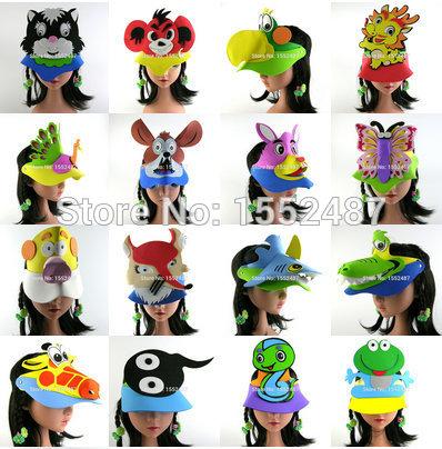 Aliexpress.com : Buy 10pcs/lot Animal headdress,Cartoon hat,EVA.