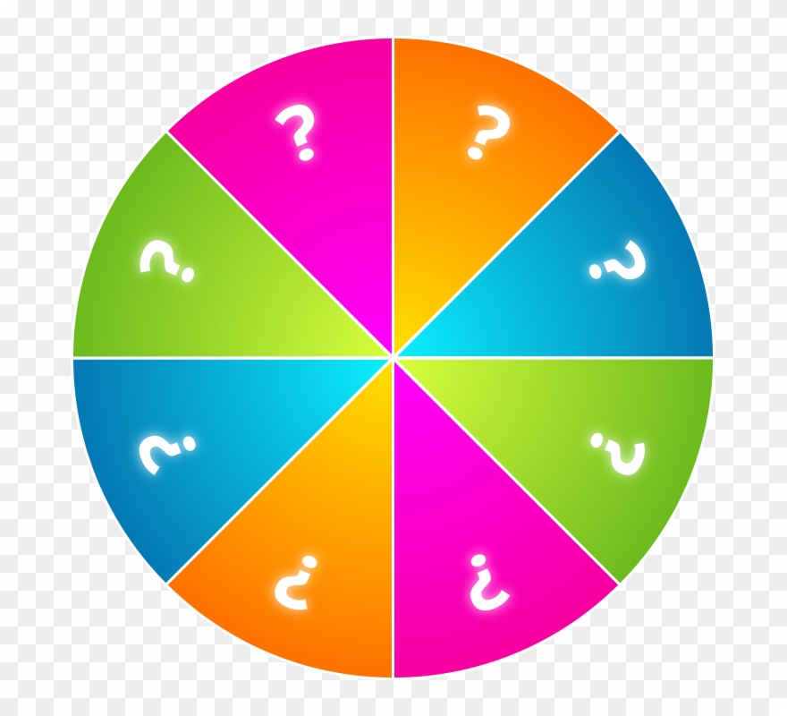 Spinning Wheel Game Png Clipart (#999821).