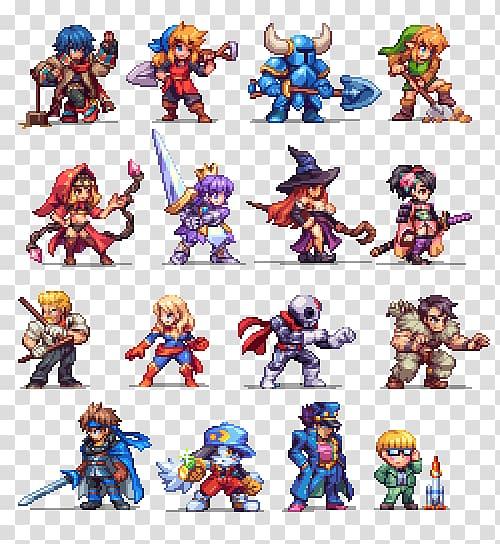 Pixel art Sprite Game, Sprite 2D computer graphics.