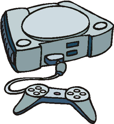 Game Console Clipart.