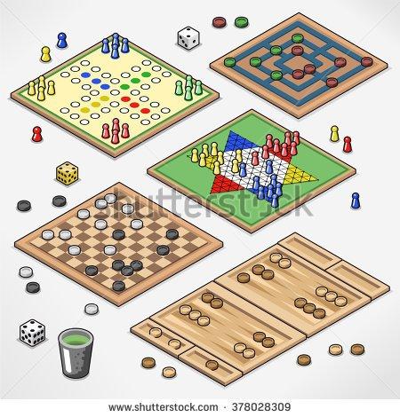 Checkers Game Stock Photos, Royalty.