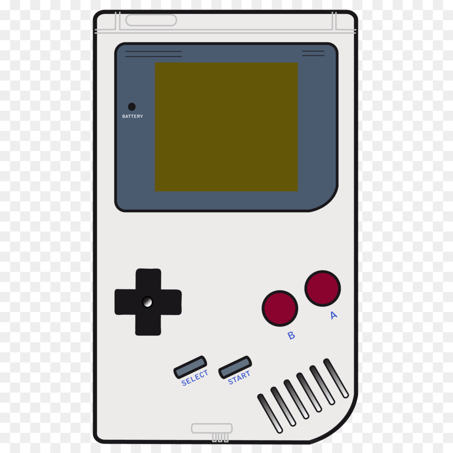 Gameboy Color Clipart.
