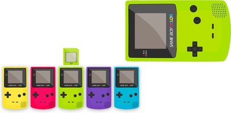 Gameboy Color Clipart Picture Free Download.