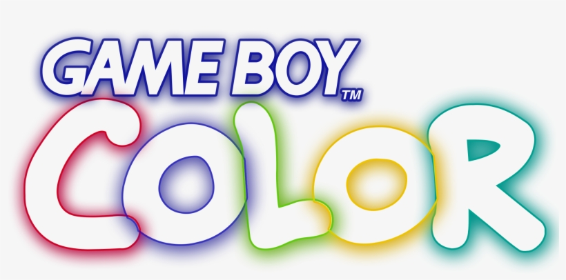 Gameboy Color Logo Png Transparent PNG.