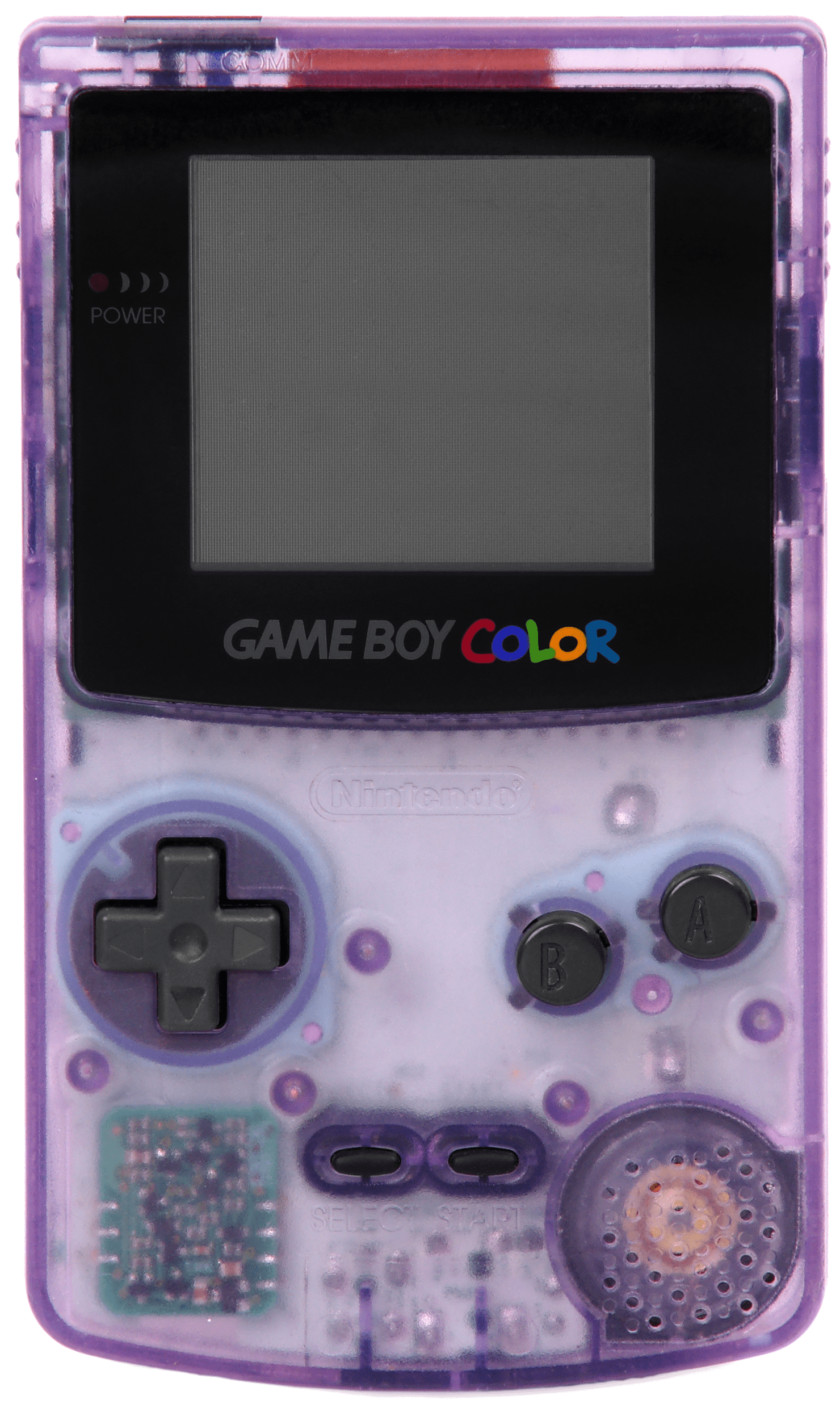 Game Boy Color Transparent Purple transparent PNG.