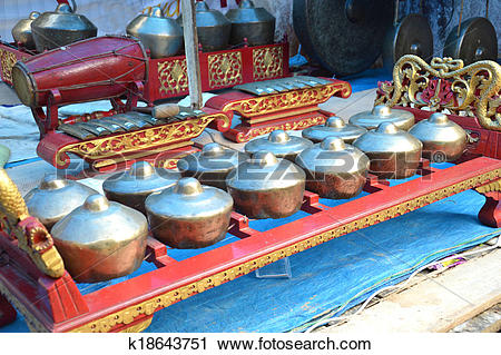Stock Photography of gamelan k18643751.