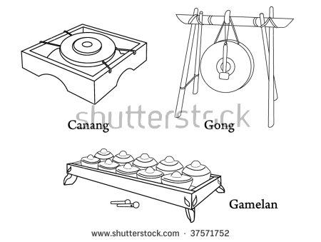 Gamelan Stock Photos, Royalty.