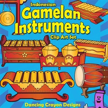 Musical Instruments: Indonesian Gamelan Instruments.