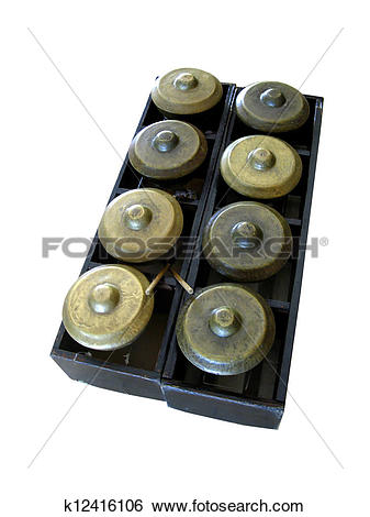 Stock Images of gamelan k12416106.