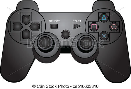 Gamepad Illustrations and Clip Art. 7,045 Gamepad royalty free.