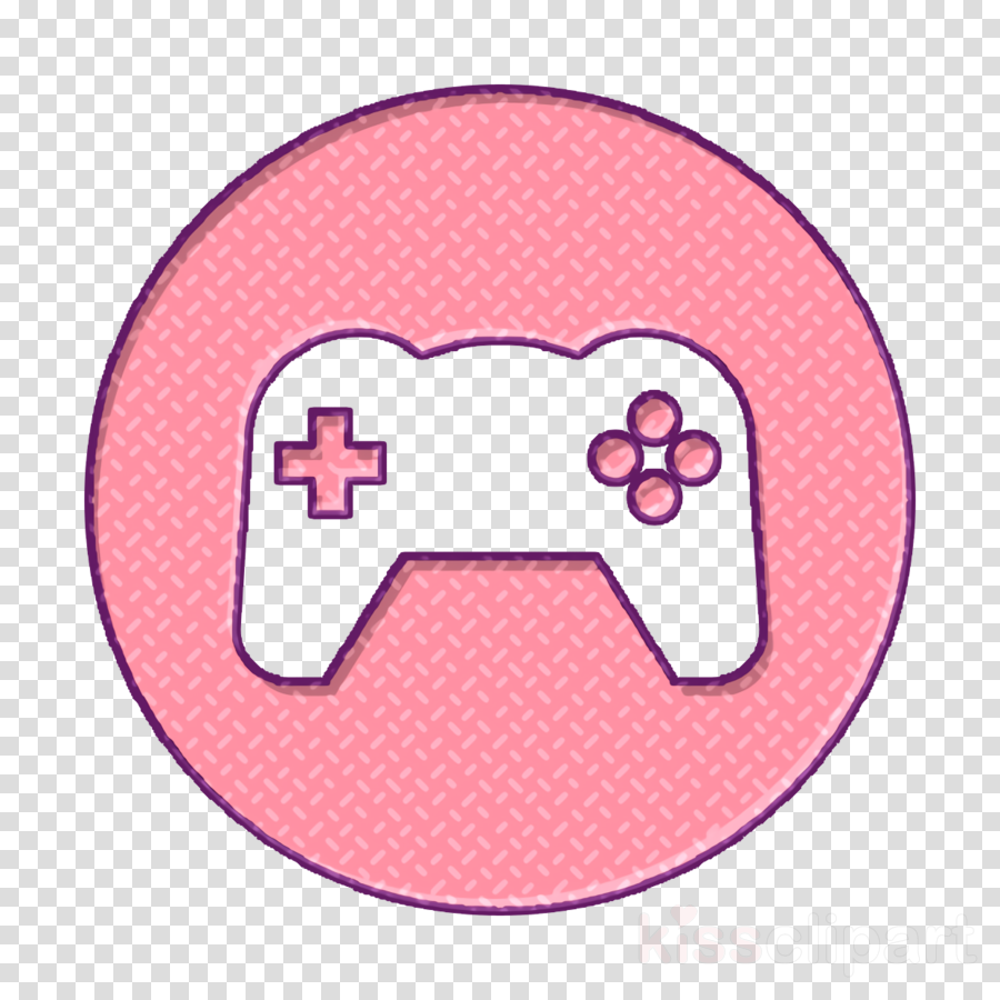 Gamepad icon technology icon Interface icon clipart.