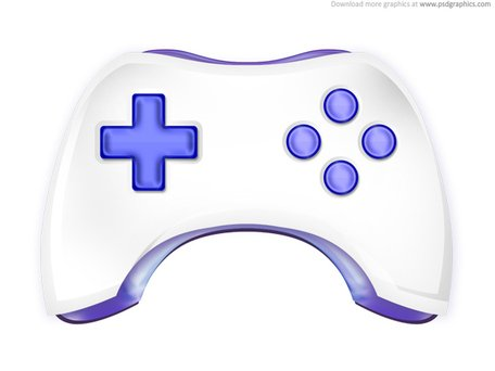 Gamepad icon (PSD) Clipart Picture Free Download.