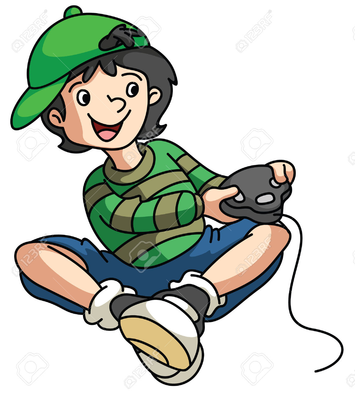 548 Gamer Boy Stock Vector Illustration And Royalty Free Gamer Boy.