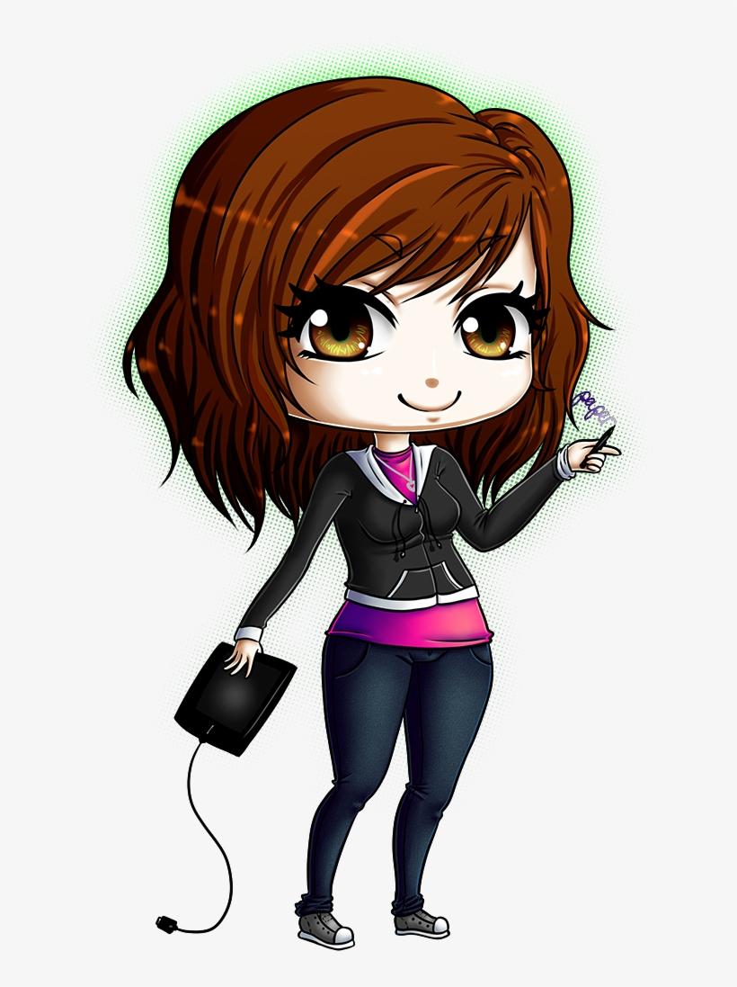 Profile Pic Gaming Girl Transparent PNG.