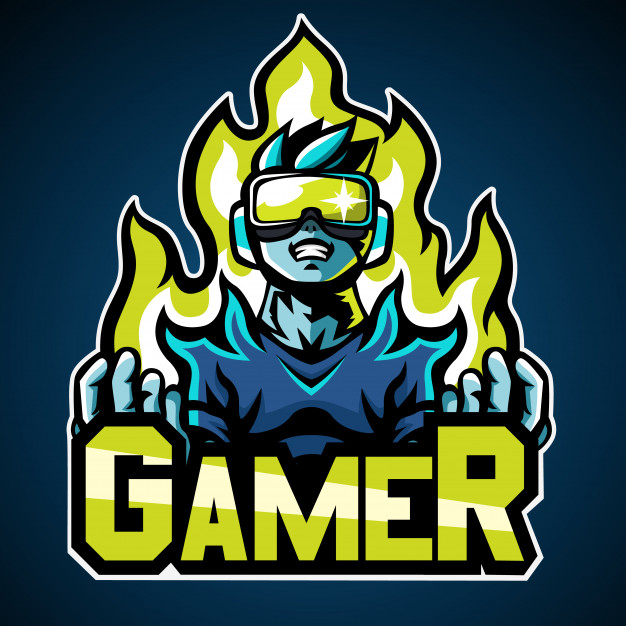 Gamer logo Vector.