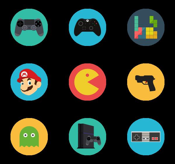 113 gamer icon packs.