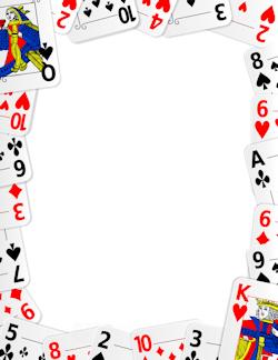 Playing Card Border.