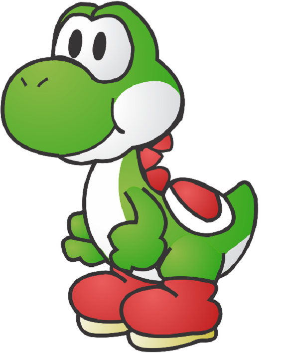 Video Game Character Clipart.