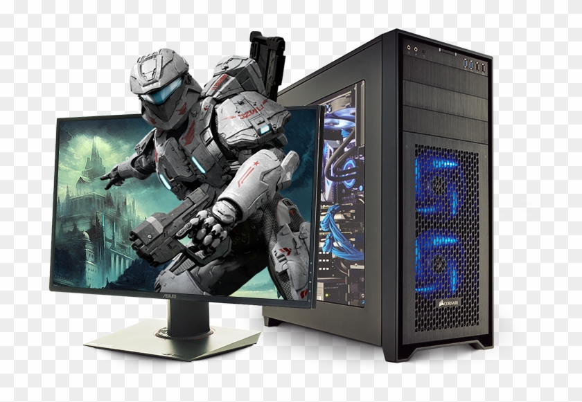Gaming Computer Png Free Download.