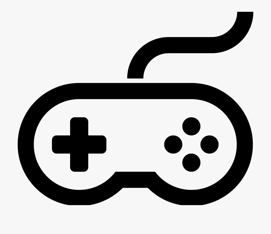 Game Controller Silhouette.