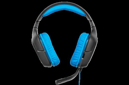 Logitech G430 7.1 Surround Sound Gaming Headset.