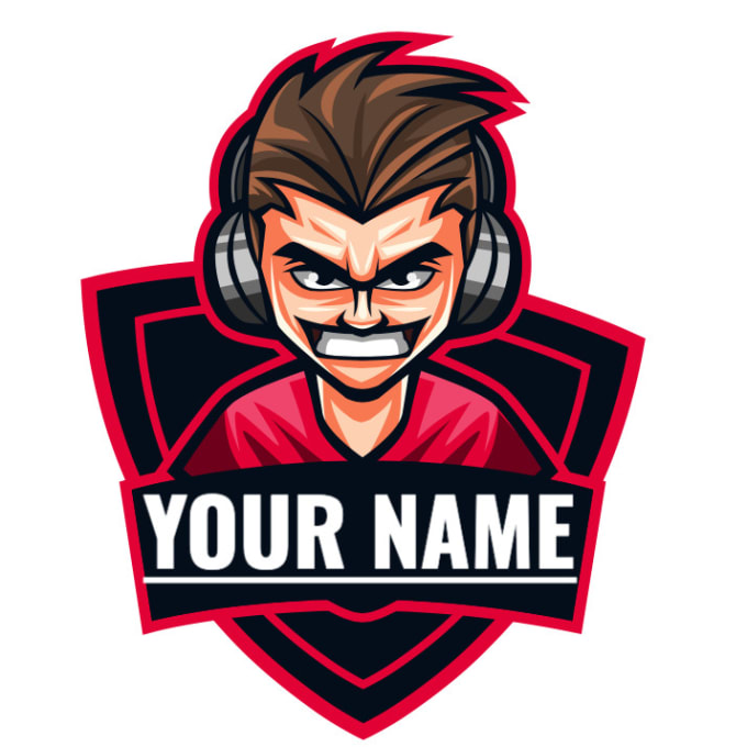 make a gaming logo for youtube or twitch channel.
