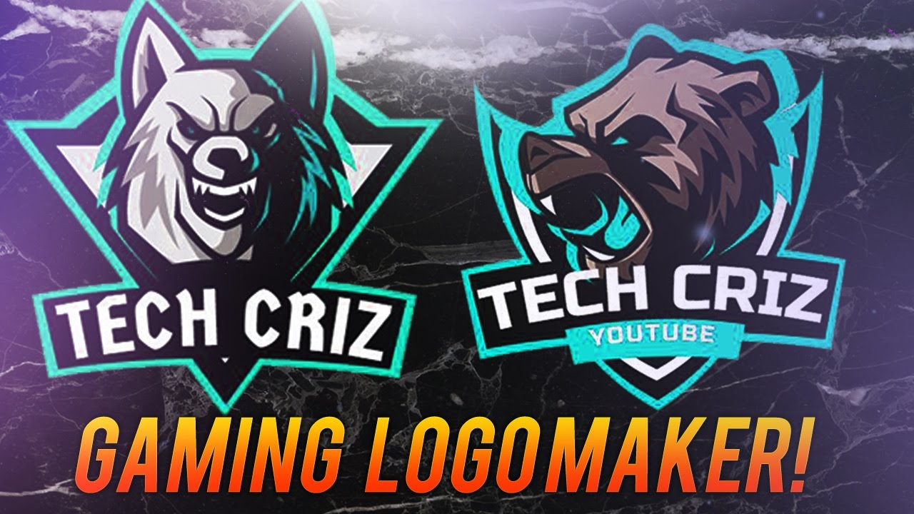 How to make a GAMING Mascot Logo WITHOUT Illustrator or Photoshop! (gaming  logo maker).