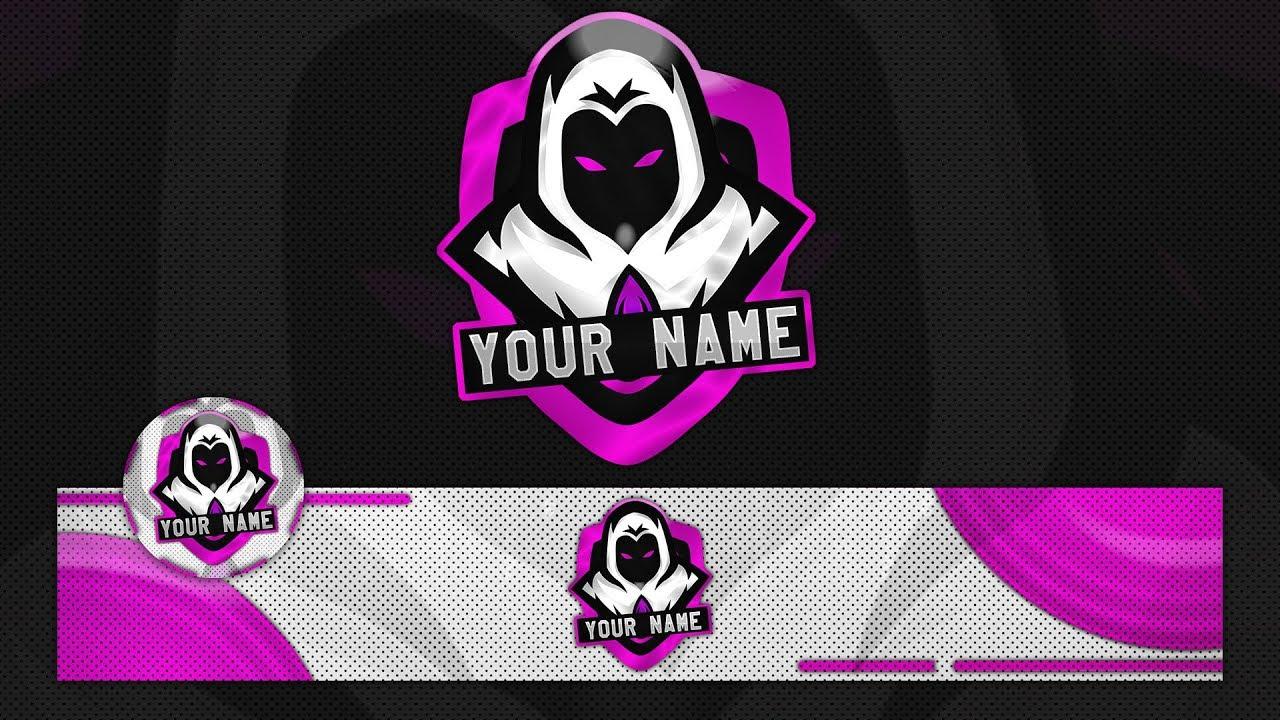gaming logo template.