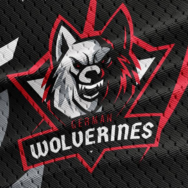 Wolf Logo Template 3.