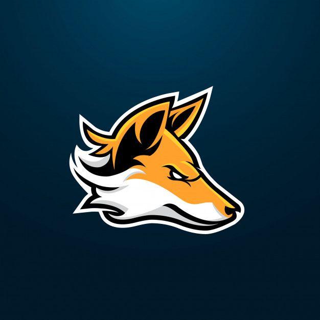 Fox esport gaming mascot logo design Premium Vector in 2019.