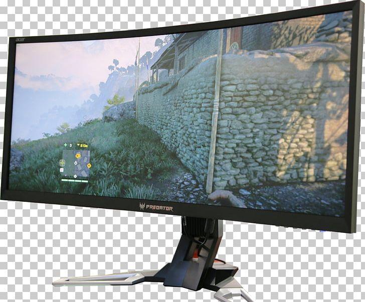 Predator X34 Curved Gaming Monitor Computer Monitors Acer.