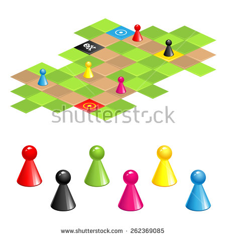 Board Game Pieces Stock Photos, Royalty.