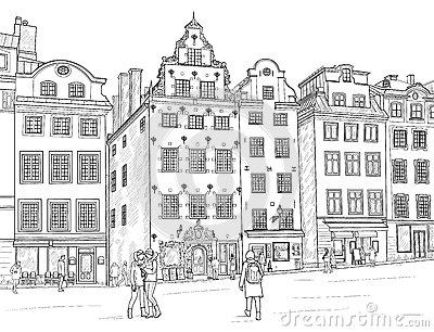 Gamla Stock Illustrations.