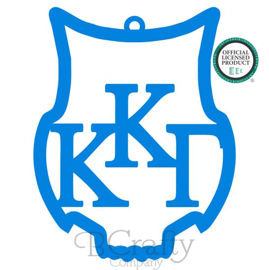 Kappa Kappa Gamma Owl Ornament : Wood Monograms, Wooden Letters.