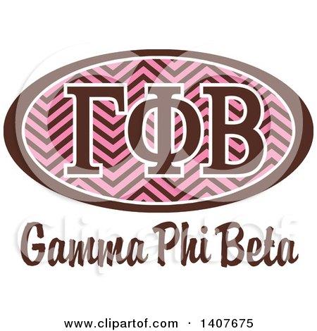 Clipart of a College Kappa Kappa Gamma Sorority Organization.