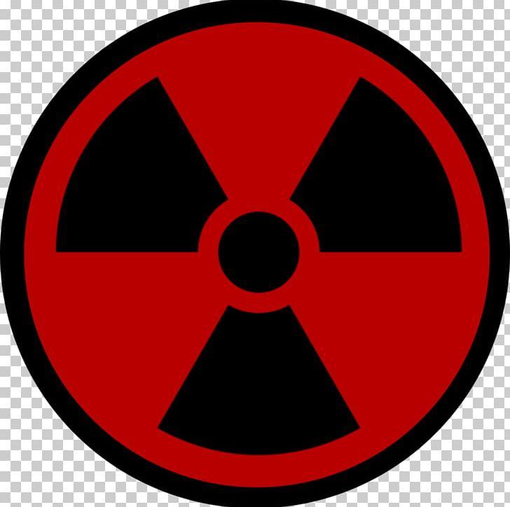Ionizing Radiation Hazard Symbol Radioactive Decay PNG.