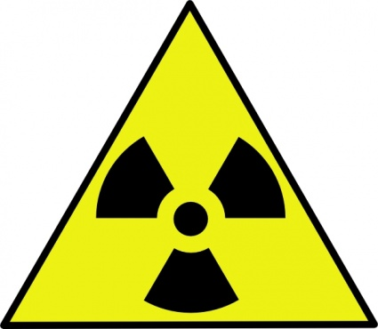 Gamma Radiation Clip Art.