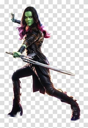 Gamora Thanos Drax the Destroyer Rocket Raccoon Groot.