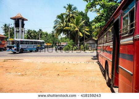 Buses.