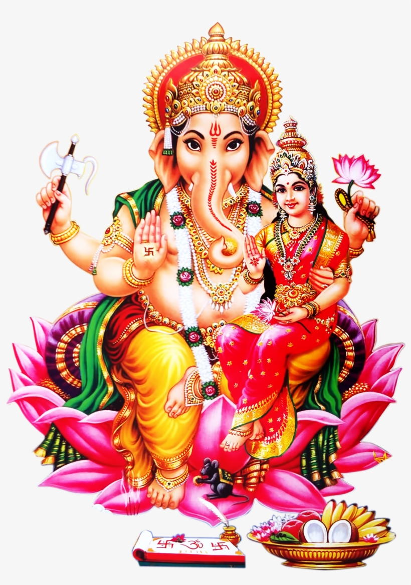 Lord Ganesh Free Png Transparent Image And Clipart.