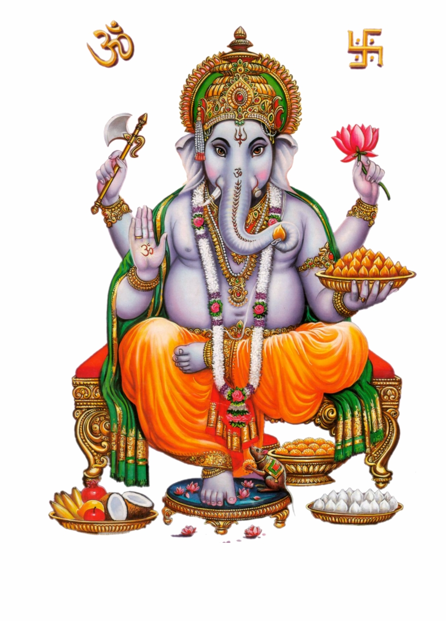 Lord Ganesha Free PNG Images & Clipart Download #182363.