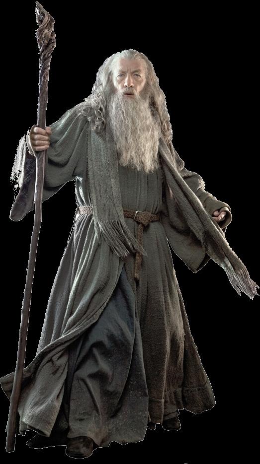 Download Gandalf Transparent Battle.