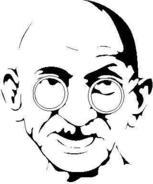 Gandhi Clip Art Download 12 clip arts (Page 1).