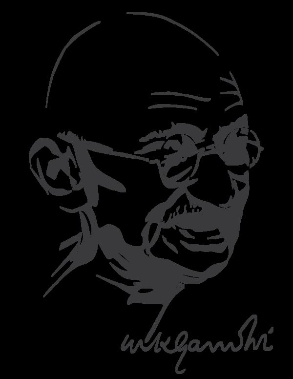 Mahatma Gandhi by astayoga.deviantart.com on @DeviantArt.