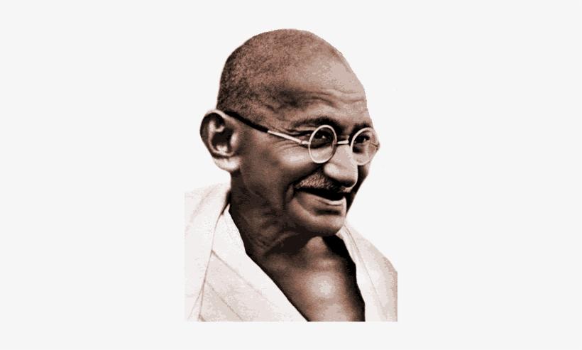 Mahatma Gandhi PNG Image.
